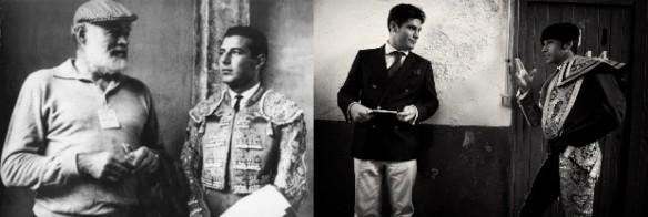 Ernest Hemingway and Antonio Ordonez - Alexander Fiske-Harrison and Cayetano Rivera Ordonez, his grandson