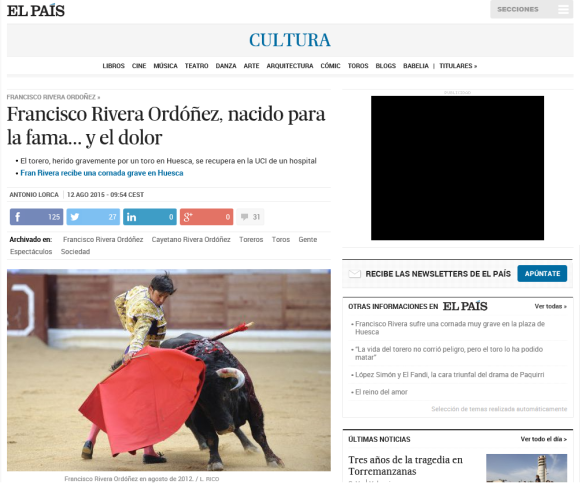 El País, Spain's equivalent of The Guardian (The Guardian ran the story here.)